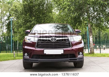 New Red Toyota.