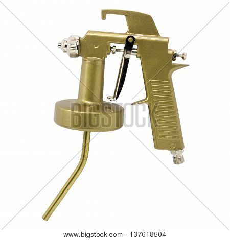 The Spray gun isolated over white background