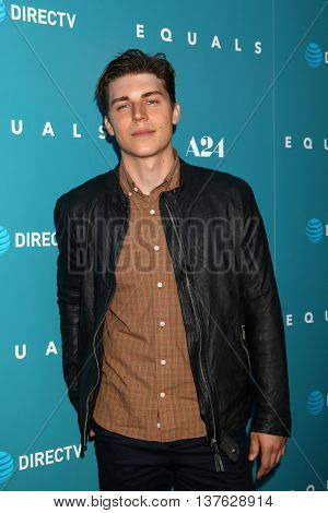 LOS ANGELES - JUL 7:  Nolan Gerard Funk at the Equals LA Premiere at the ArcLight Hollywood on July 7, 2016 in Los Angeles, CA