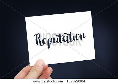 Reputation concept