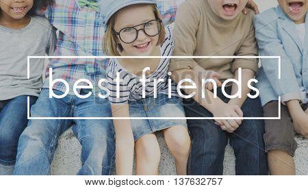 Best Friends Friendship Partnership Relationship Concept