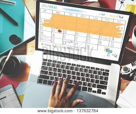 Appointement Agenda Calendar Meeting Reminder Concept