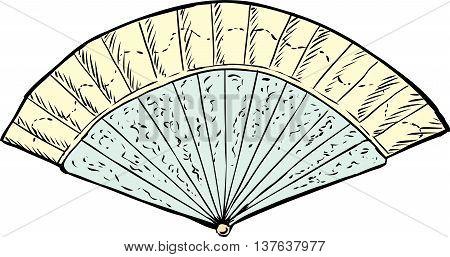 18Th Century Hand Fan