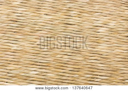 wicker texture from a basket hand made