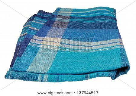 Natural flax table napkin texture blue textured towel textile pattern detail large detailed vertical isolated linen macro closeup