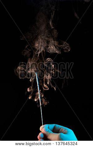 Smoke After Sparkler