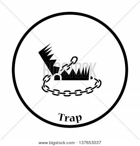 Bear Hunting Trap  Icon