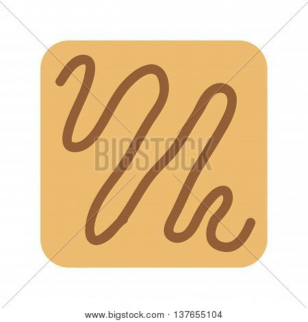 delicious cookies isolated icon design, vector illustration  graphic