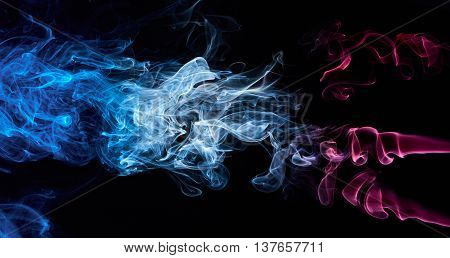 Coloured Abstract Smoke
