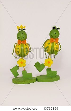 king and queen frog