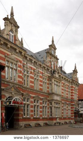 Historic Building In Hamelin, Germany