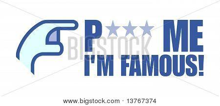 Poke me i'm famous
