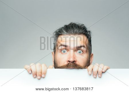Surprised Man With Paper