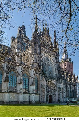 The Roman Catholic Cathedral Church of St. John of 's-Hertogenbosch is the height of gothic architecture in the Netherlands