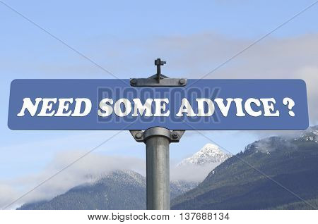 Need some advice road sign