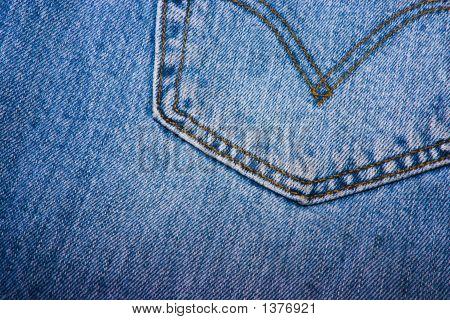 Back Pocket Of A Jean