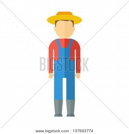 Farmer Color Icon