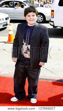 Josh Flitter at the World premiere of 'Nancy Drew' held at the Grauman's Chinese Theater in Hollywood, USA on June 9, 2007.