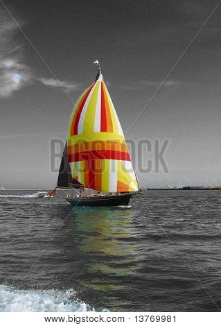 Coloured Sail