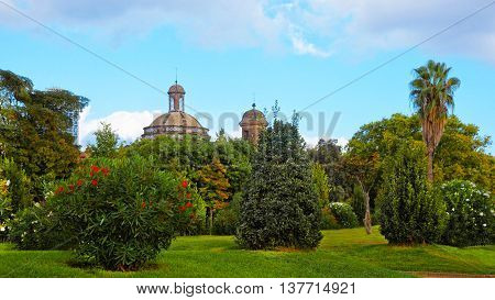 Military Parish Church In The Ciutadella Park In Barcelona