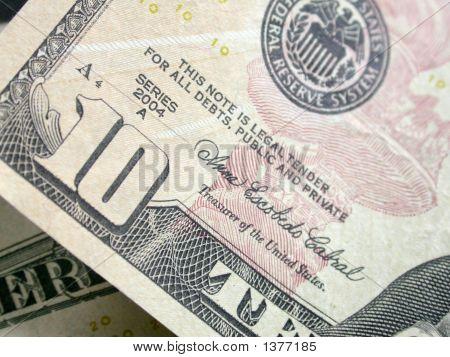 Zehn Dollar $10