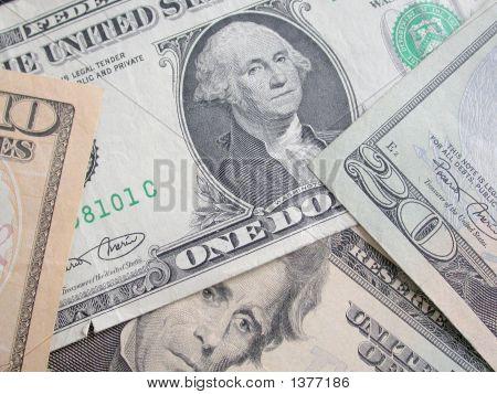 Money - $1 - $20 - $10