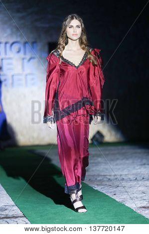 Fashion Week Zagreb : Marija Cvitanovic, Zagreb, Croatia.