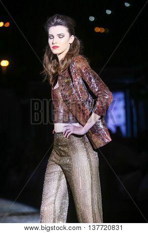 Fashion Week Zagreb : Sylvio Roubertto Kovacic, Zagreb, Croatia.