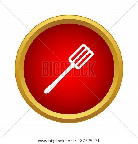 Spatula icon in simple style on a white background