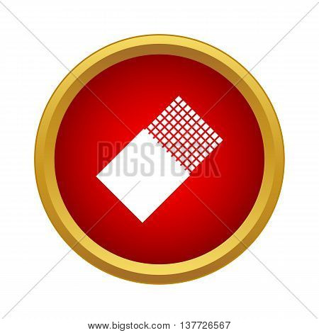 Chocolate icon in simple style on a white background