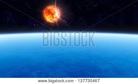 Planet And Solar
