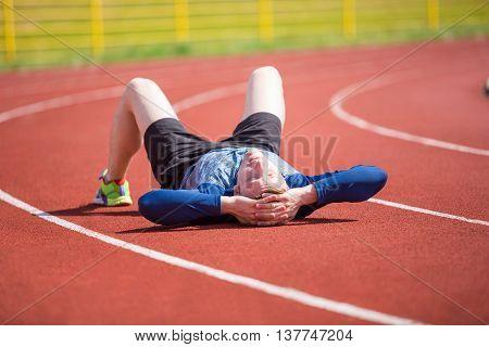 Tired Sportsman