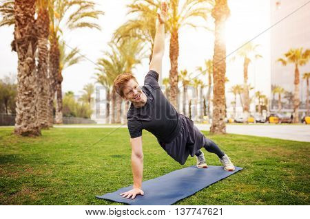 Man Stretching Out
