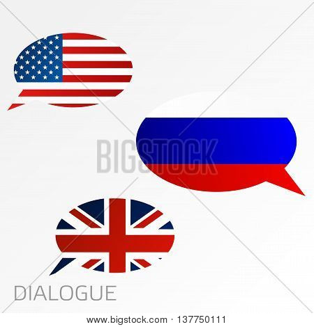 Dialogue Between Usa, United Kingdom And Russia