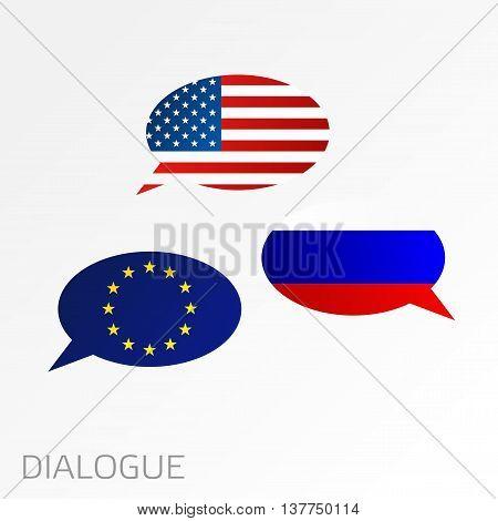 Dialogue Between Usa, Eu And Russia