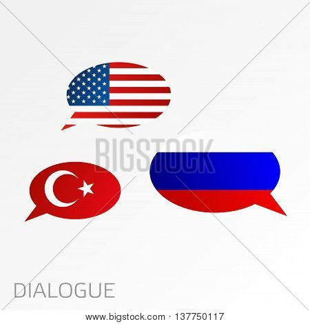 Dialogue Between Usa, Turkey And Russia