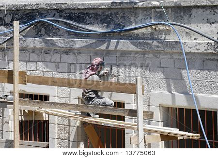 Construction Worker, Jerusalem