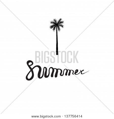 Summer Card Poster, Emblem, Quote