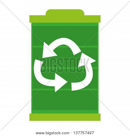 green battery leaf, leaves isolated vector illustration