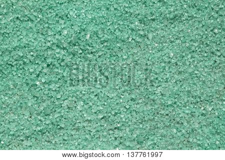 Green salt. Usable as a background