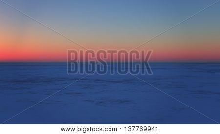the 3D rendering of desert scene background.