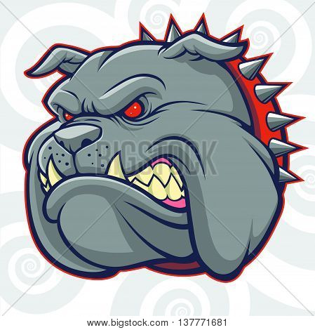 Bulldog Vector Head for Logo  and Mascot
