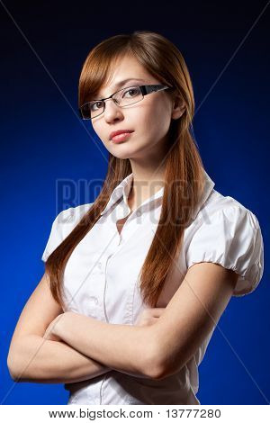 Seriuosly Businesswoman