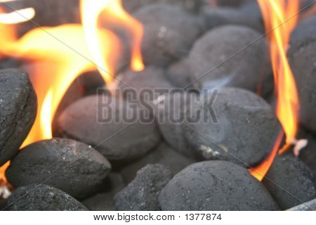 Burning Coal