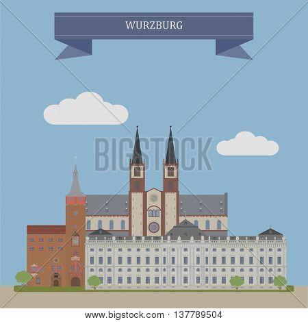 Wurzburg, City In Germany