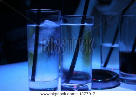 Icy Water Glasses