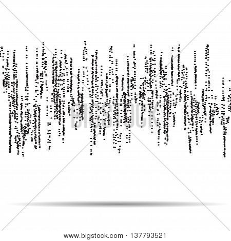 abstract pulsating equalizer background - vector EPS 10
