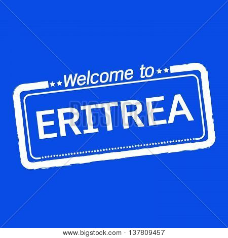 an images of Welcome to ERITREA illustration design