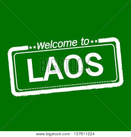 an images of Welcome to LAOS illustration design
