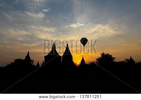 Bagan is one of Myanmar - Burma's ancient capitals and is one of the up and coming tourist destinations in Myanmar. Balooning over the temples at Sunrise and Sunset is a magical experience.